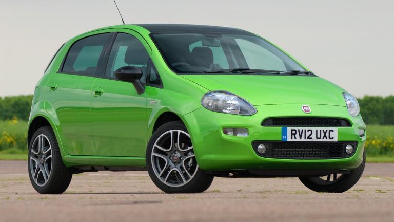 Modelo de Fiat Punto 2012