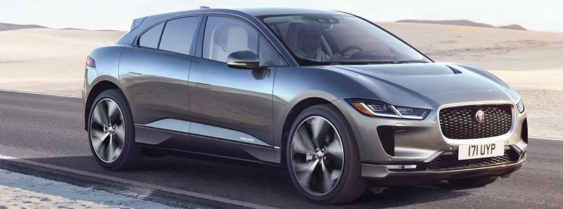 El nuevo coche eléctrico Jaguar I-Pace