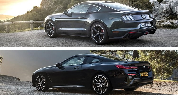 FORD MUSTANG BMW SERIE 8
