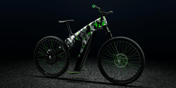 Skoda Klement prototipo bicicleta eléctrica