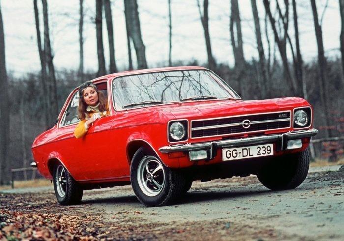 OPEL ASCONA años 70