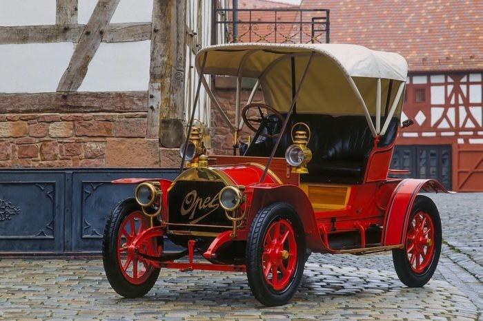 OPEL Doktorwagen principios siglo XX