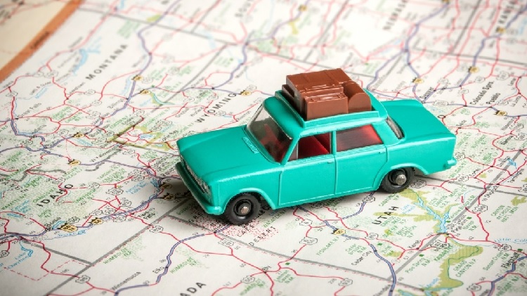 salir con el coche de vacaciones